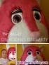 Botargas de conejita rosa