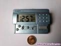 Casio pq-10d reloj despertador de viaje con luz, funcionando. Traveller´s alarm