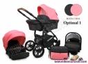 Fotos del anuncio: Carrito de bebe rosa y moderno Optimal