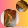 Virgen de PINTURICCHIO, pintura fresco sobre retablo