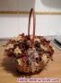 Fotos del anuncio: Cesta de mimbre de flores artificiales