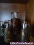 Fotos del anuncio: Original juego de cerveza en cristal y cuero