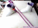 Fotos del anuncio: Botas ski + bastones infantiles