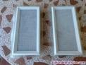 2 nuevas Rejillas de ventilación para chimenea