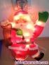 Papá Noel luminoso decorativo para colgar en ventana