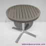 Fotos del anuncio: Mesa terraza aluminio ø90cm