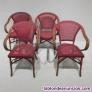 Fotos del anuncio: Lote 4 sillas terraza apilables
