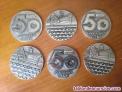 Fotos del anuncio: 6 medallones medallas conmemorativas 50 aniversario c.t.n.e. Compañía telefonica