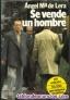 """Libro  """" Se vende un hombre """""""