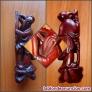 Fotos del anuncio: Figura antiquísima en Madera de Cerezo Rojo chino