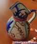 Fotos del anuncio: Jarra de cerámica pintada a mano y esmaltada al horno