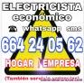 Electricista economico Tele. 664240562