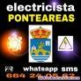 Electricista económico ponteareas y comarca