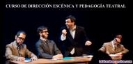Curso de direccion escenica y pedagogia teatral 2021-2022 en la lavanderia teatr