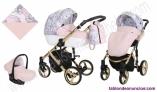 Fotos del anuncio: Carro de bebe Tiaro Diamante EcoPiel Dorado